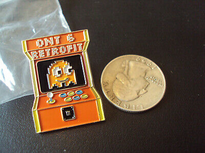 Peccy Pac Man Pin Rare Amazon Employee Exclusive Atari Arcade Retro