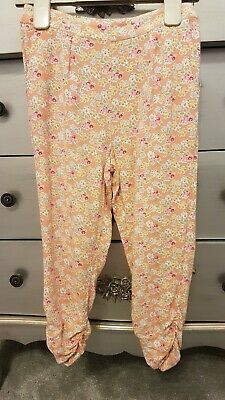 NEXT Girls Floral Harem Style Pants Age 4 Years