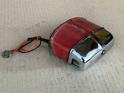 Mg Midget Sprite (1964-67) Mounting Plinth, Lens & Cover For Number Plate Light
