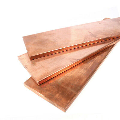 1pcs 10mm x 200mm x 200mm 99.9% Copper T2 Cu Metal Flat Bar Copper Strip Plate