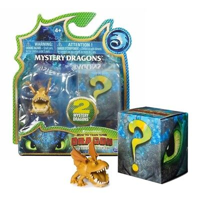 How To Train Your Dragon The Hidden World Meatlug Mini Figure & Mystery Dragon
