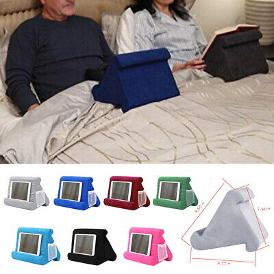 Tablet Pillow Stands For iPad Book Reader Holder Rest Laps Reading Cushion AU !