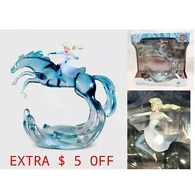 Disney Frozen II 2 Elsa Nokk Water Spirit Novelty Mood Light Figurine Limited
