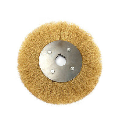 4/'/'~10/'/' Soft Copper Wire Wheel Brush For Derusting Polishing Grinding