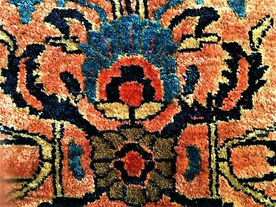 Antique Sarouk US Reimport carpet rug 205 x 130