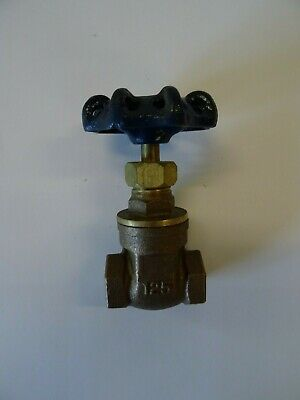 "1/4"" BSP Female Brass Gate Valve for Water/Oil"
