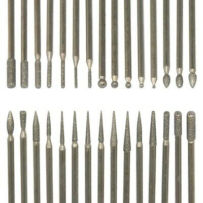 Nail Art Electric File Drill Bits Replacement Manicure Pedicure Kit Pack of 30