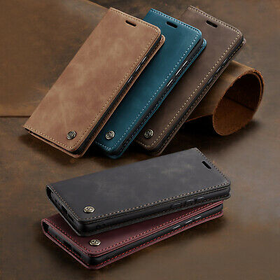 For Samsung A20 A30 A50 A70 Case Wallet Magnetic Case Flip Cover Card Holder