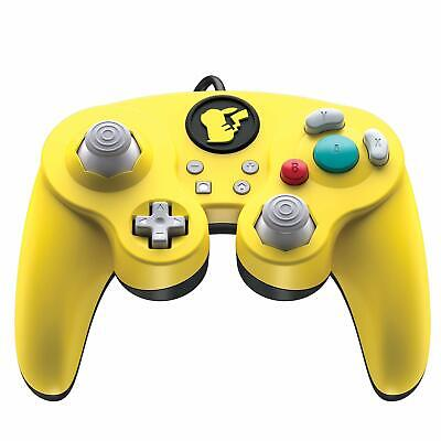 Wired Fight Pad Pro (Pikachu) (Nintendo Switch) (New) - (Free Postage)