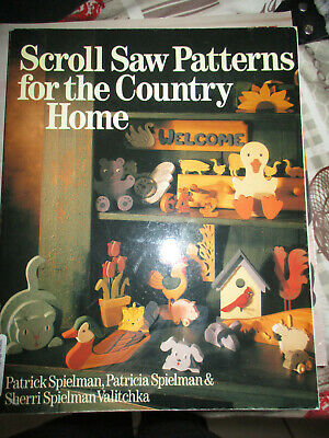 Livre Scroll Saw Patterners For The Country Home