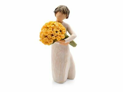 Willow Tree 27462 Good Cheer Flower Figurine Figures Ornaments Collection Gift