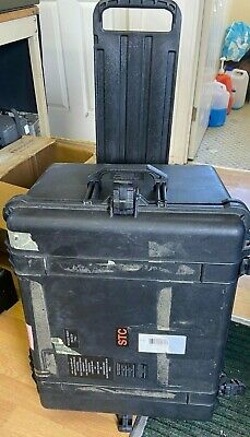 Large Peli Case With Foam Wheels and handle (o)