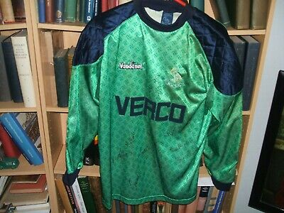 **Multi-Signed** WYCOMBE WANDERERS F.C. 1992/94 Goalkeepers Football Jersey
