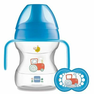 Mam Learn To Drink Cup With Handles + 6m Soother 190ml
