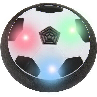 Indoor LED Hover Ball Air Power Floating Soccer Ball Light Up Football Disc Xmas