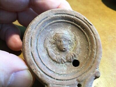 Ancient Roman Oil Lamp - Helios