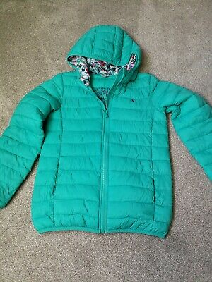 Joules Girls Quilted Jacket Age 11-12 Years