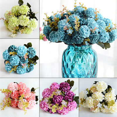 1pc Artificial Simulation Flower Ball Chrysanthemum Fake Plants Decor Display
