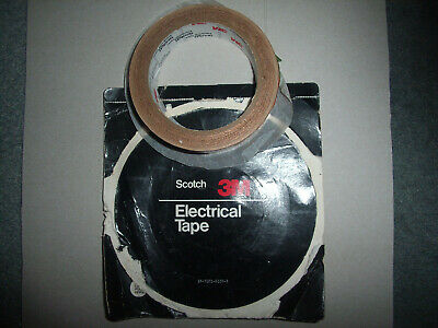 Unused roll metal copper like electrical tape Scotch by 3M..made in USA..sticky