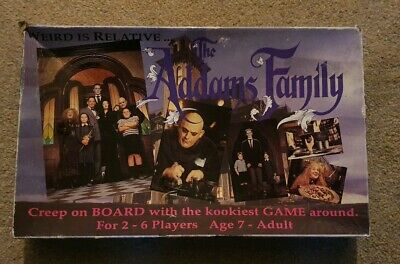 The Addams Family Board Game 1991