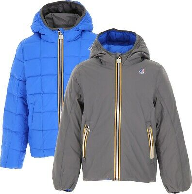 Kway K-Way Jacques Thermo Plus Double K001K40 Listino 220€. 6 Anni Colore A45