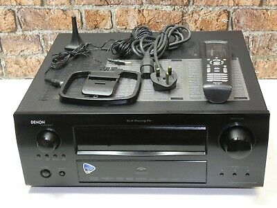 Denon AVR-3808 Dolby 7.1 Channel 4 HDMI Input Integrated Amplifier Receiver