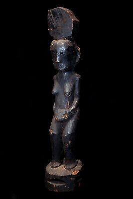 Published Authentic Ifugao Tribal Used Antique Standing Statue; Circa 1880!