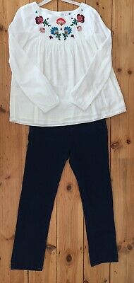 john lewis Outfit Blouse And Jeans Age10-11years old / Very Good Condition