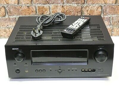 Denon AVR-1911 Dolby 7.1 Channel 4 HDMI Input Integrated Amplifier Receiver