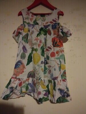 H&M Girls Floral Dress Aged 6-7 Years
