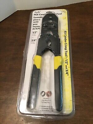 Apollo 1/2 in. and 3/4 in. PEX Combo Crimp Tool Open Package Tool ONLY
