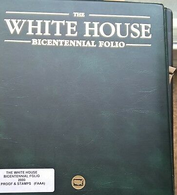 The White House Bicentennial Folio and Bonus First Day Cover