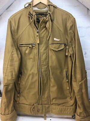 Men's Superdry Heavy Duty Winter Field Jacket In Khaki Sand . Size Large . 42""