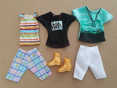 Five  Items Of Brand New Clothes  For Ken And Pair Of Boots,  Same Day  Postage