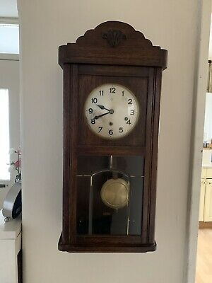 Antique German  HAC  3/4  Westminster chime wall clock