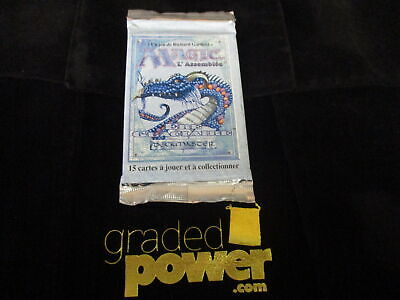 Ice Age Scaled Wurm Booster Pack French BB Sealed Booster Pack Magic MTG