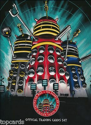 DR WHO AND THE DALEKS Complete 54 Card Base Set