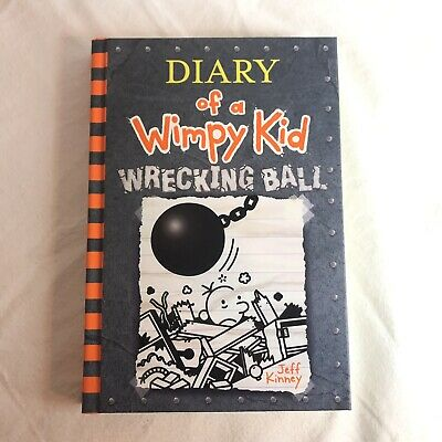 Wrecking Ball Diary of a Wimpy Kid Book 14 by Jeff Kinney 2019 New