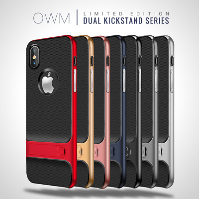 Shockproof Hard Cover Case For Apple iPhone 6 6s 7 8 Plus X XS Screen Protector