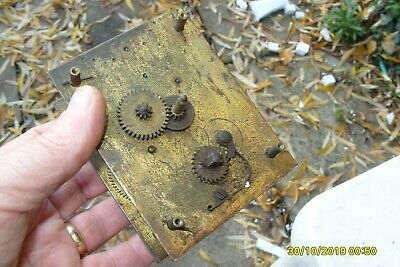 Clock Parts Empire Movement  Spring  Ok For Spares