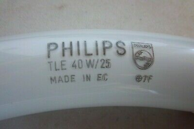 PHILIPS TL E 32w//33 Made in Holland TLE 32 W 33 runde Lame RingForm kaltweiss