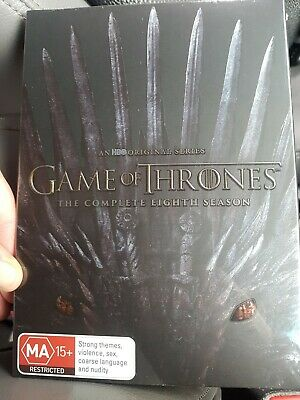 GAME OF THRONES : Season 8 Final New Not sealed