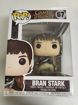 Funko Pop Game Of Thrones BRAN STARK #67 Vinyl Figure