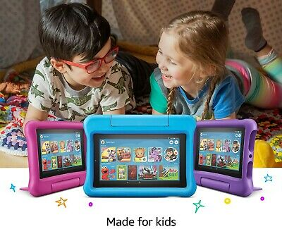 Amazon Fire 7 Kids Edition Tablet  2019 RELEASE 9th Gen. 3 colors Brand new
