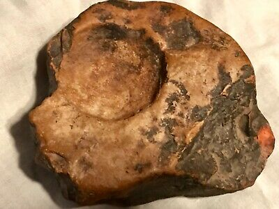Ancient Native American Indian Grinding Stone Artifact Quapaw Found in Arkansas
