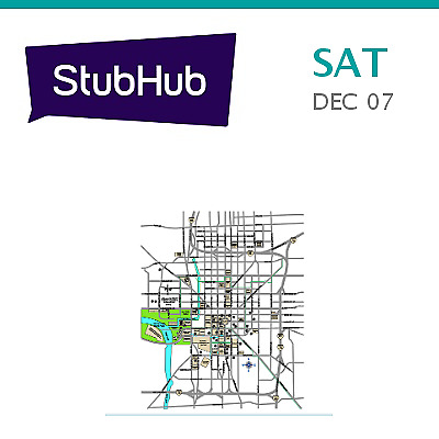 PARKING PASSES ONLY Big Ten Championship Football Tickets (Ohi... - Indianapolis
