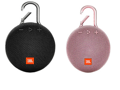 JBL Clip 3 Rechargeable Waterproof Portable Bluetooth Speaker Pink