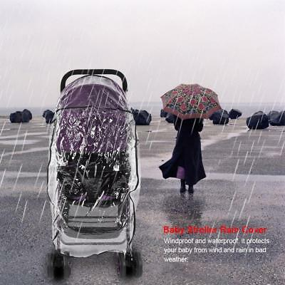 Buggy Rain Cover Universal Raincover For Baby Pushchair Stroller Pram Waterproof
