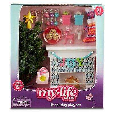 My Life As  A  Holiday Play Set 21 Piece Set