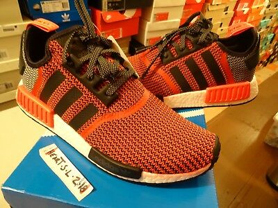 NEW Adidas NMD R1 Nomad Lush Red Black OG S79158 Ultra Boost SZ 10.5 JP Yeezy PK